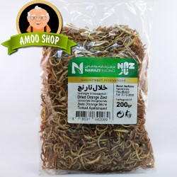 Dried orange zest - 200 gr