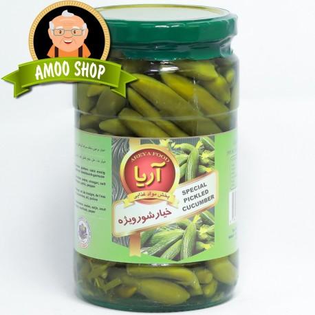 Pickled cucumbers Areya - 750 & 1500 gr