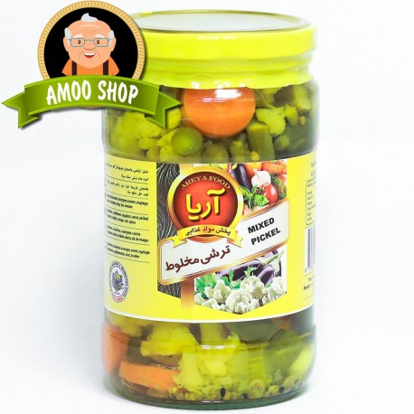 Mixed pickled Areya - 700 gr