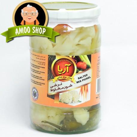 Salted mix pickled - 700 gr