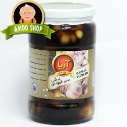 Garlic pickled - 750 gr