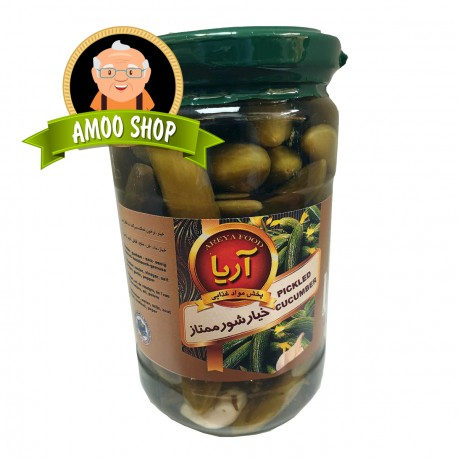 Pickled cucumbers Areya - 700 gr